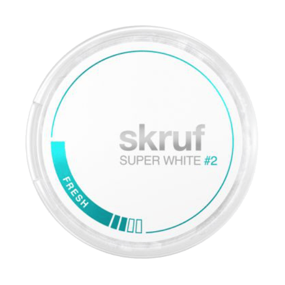 Skruf super white fresh 2